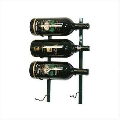 Wine Master Cellars WS-BIG1-P VintageView Big Bottle Wall Mounted Wine Rack