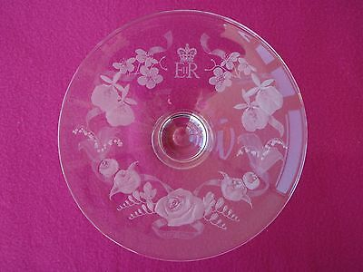 Dartington Diamond Jubilee Royal Garland Centrepiece Posy Bowl / Great Xmas Gift
