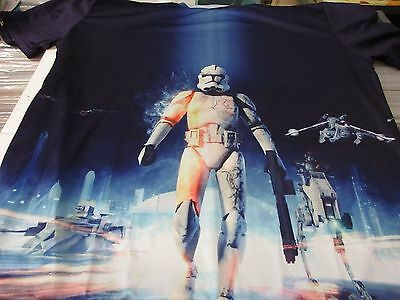 Join The Army Stormtrooper Print all over T-Shirt SIZE XL NEU