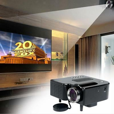 1080P Mini LED Proyector Projector UC28+ Home Cinema Teatro HDMI AV VGA USB