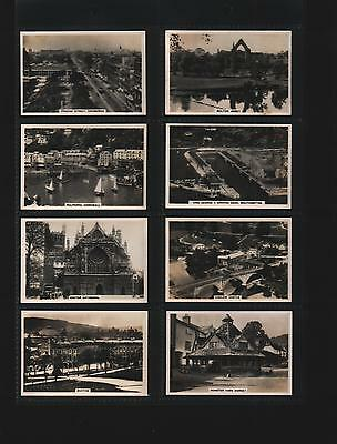 cigarette cards sights of britain 2nd 1936 full set