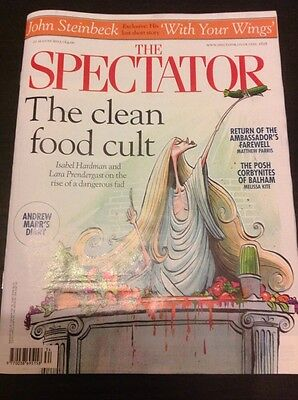The Spectator Magazine - 22 August 2015 (Clean Food Cult)