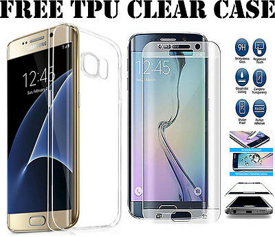 3D Full Curve Cover Tempered Glass Screen Protector For Samsung Galaxy S6 Edge