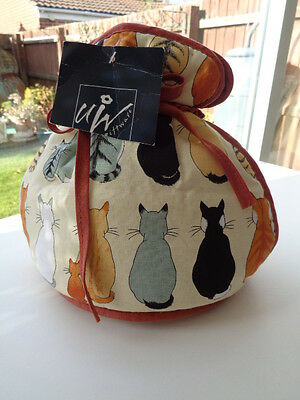 Ulster Weavers 'cats In Waiting' Tea Cosy - New