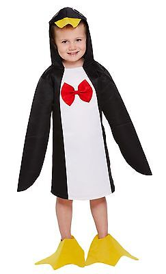 Toddler Penguin Fancy Dress Up Party Costume Age 3 World Book Day NEW