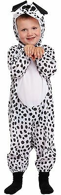 Toddler Dog Fancy Dress Up Dalmation Party Costume Age 3 World Book Day NEW