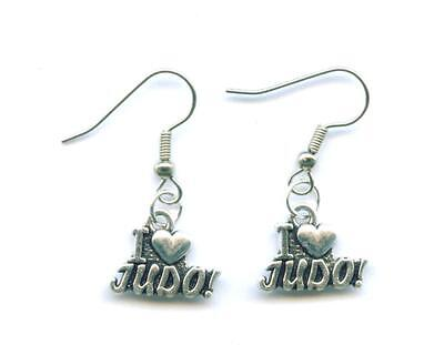 JUDO Ohrhänger Ohrringe Earrings