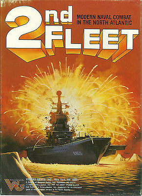 2nd Fleet, from Victory Games Modern Naval Combat in the North Atlantic