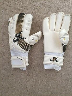J4K Goalkeeper Gloves, Neo Pro Roll Gold, Size 9