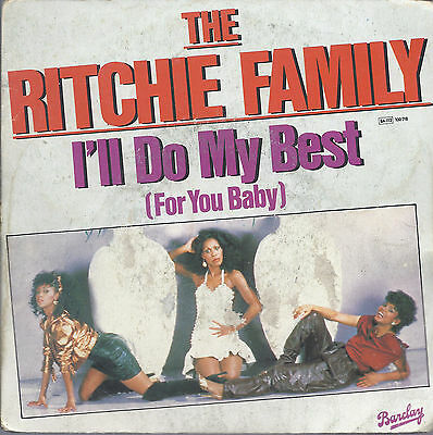 I'LL DO MY BEST (For you Baby) - YOU CAN ALWAYS COUNT ON ME # THE RITCHIE FAMILY