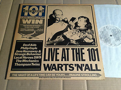 V/a - Live At The 101 Warts'n'all - Lp - Polydor 2478 139 - Uk 1980