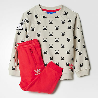 Size Cribs 0-3 Months - Adidas Originals Magic Frost Tracksuit - Multi