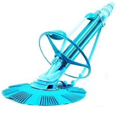 POOL VACUUM CLEANER AUTOMATIC CLIMB WALL IN GROUND No Tools/Electricity Needed