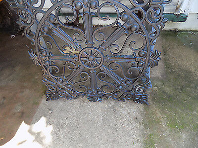 grate architectural castiron for garden trivet vintage starburst gate register