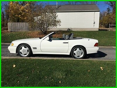 1995 Mercedes-Benz SL-Class SL320 (STD is Estimated) 1995 Mercedes SL320, Only 80k! Two Tops, excellent condition, maint. records AMG