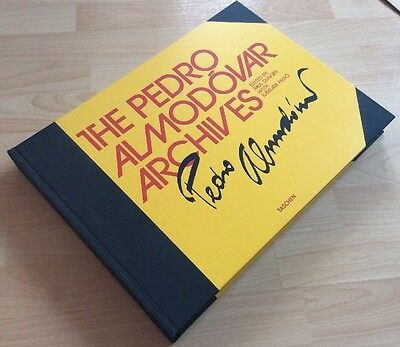 THE PEDRO ALMODOVAR ARCHIVES -  TASCHEN BOOKS - 1st EDITION -