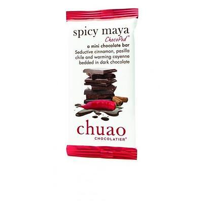 Chuao Chocolatier 900340 Spicy Maya ChocoPod Mini Bar 24 Mini Bars