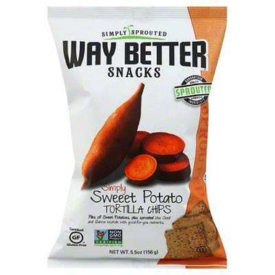 WAY BETTER SNACKS CHIP SWT PTO SIMPLY-5.5 OZ -Pack of 12