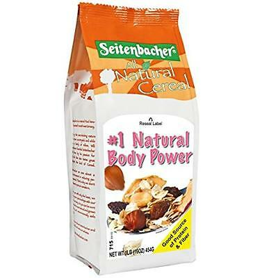 Muesli #1 Natural Body Power With European Hazelnuts 16-Ounce Bags (Pack of 6)