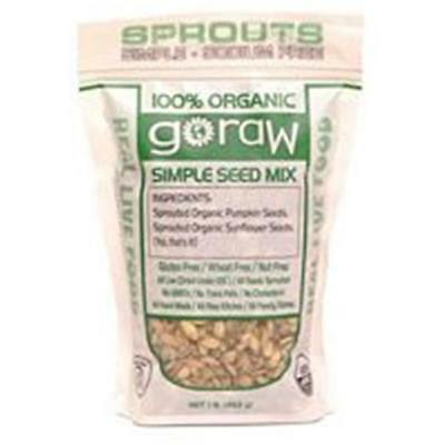 Go Raw Simple Seed Mix 16 Oz -Pack of 6