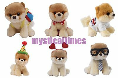 New * Itty Bitty Boo * Gund Worlds Cutest Dog Collectable Soft Toy