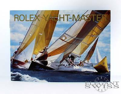 Rolex Yacht-Master Booklet in English, Sale Priced!