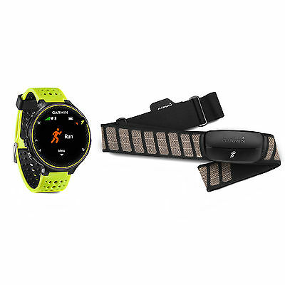 Garmin Forerunner 230 GPS Running Watch & Activity Tracker Force Yellow Bundle