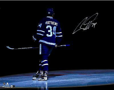 Autographed Auston Matthews Maple Leafs 16x20Photo Item#6599198