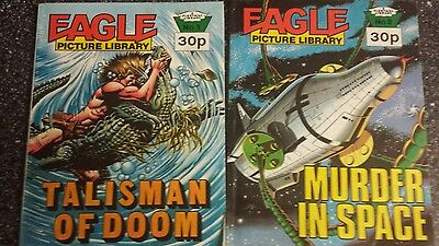 Eagle Picture Library 1 Talisman of Doom & 2 - Murder in Space