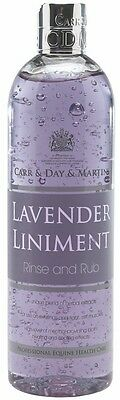 Carr and Day and Martin Lavender Liniment Rinse/Rub 500mL