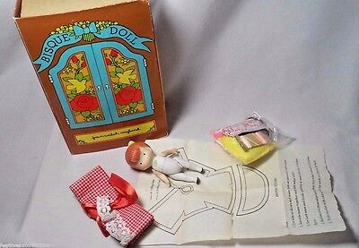 BISQUE DOLL Joan Walsh Anglund Jointed 1958 In Original Box! w/Accessories!