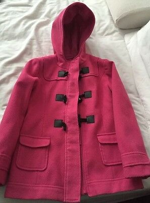 Next Pink Duffle Jacket age 7-8 years Suitable 4 TWINS