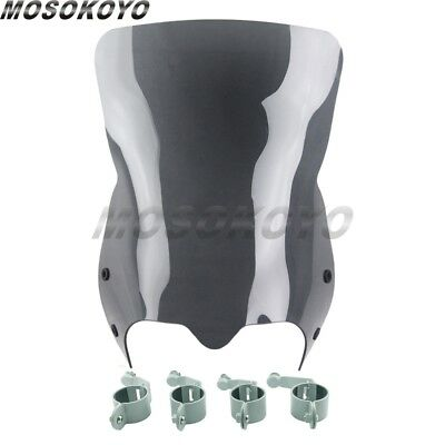 Black Motor Windshield Windscreen Fairing For Suzuki Boulevard M50 M90 M109R