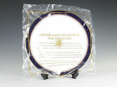 """Reagan White House China Fitz & Floyd 10 1/4"""" Dinner Plate -Mint In Orig Package"""