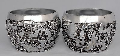 Pair of Signed DON SHEIL 1976 Lunar Nectar Cups - Water/Whisky Tumbler (5.4cm)