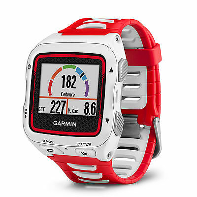 New Garmin Forerunner 920XT Multisport Fitness Watch Bundle with HRM White Red