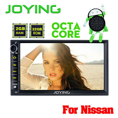 """Joying 7"""" HD 1024*600 Android 6.0.1 Double 2Din Pure Stereo For Nissan X-trail"""