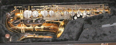 Used Jupiter JAS-769 Alto Sax with Case and Yamaha Mouthpiece