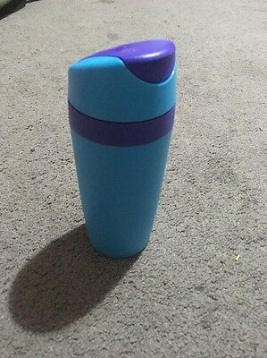 Tupperware Commuter / Travel Mug 360mls Blue RRP $29 EUC
