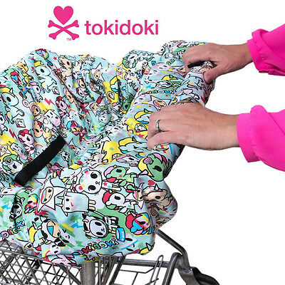 New Bebe au Lait 2-in-1 Compact Shopping Cart Cover Unikiki tokidoki Collection