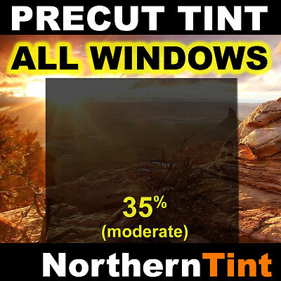 Precut Window Tint Film for Nissan Altima 4dr 07-10 All 35% vlt (moderate dark)