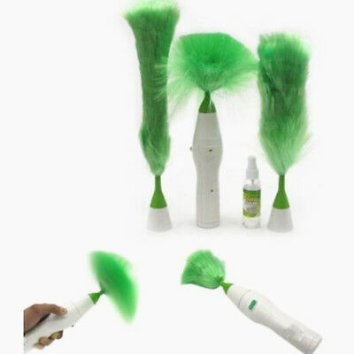 Electric Duster Motorized Duster Motor Brush Spins Motor Clean Car Blinds New A7