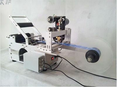 Automatic Round Bottle Labeling Machine With Date Code Printer,Labeller A