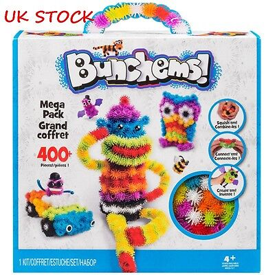 Bunchems Mega Pack Over 400 Pieces Children Toy XMS Festival Birthday Gift Hot