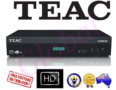 Teac HD Set Top Box DTS 2.0 High Definition HDMI USB direct Record HDB-850 *RFB*