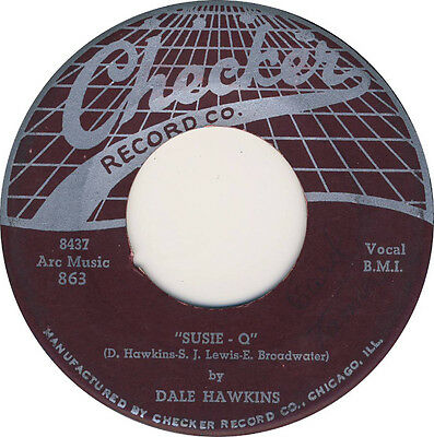 SUZIE Q / MY BABE Dale Hawkins *DOUBLE SIDED STROLLER/ JIVER*