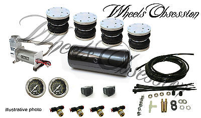 AUDI A4 B8 A5 air ride basic kit front rear High quality  VIAIR compressor