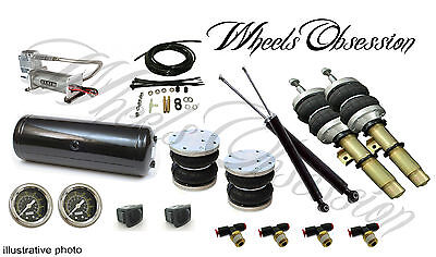 SEAT IBIZA 6L 6J air ride basic kit with shock absorbers High quality