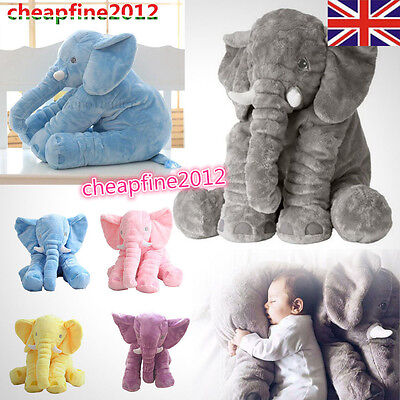 New Baby Kids Stuff Long Nose Elephant Soft Doll Toys Lumbar Pillow Plush Gift