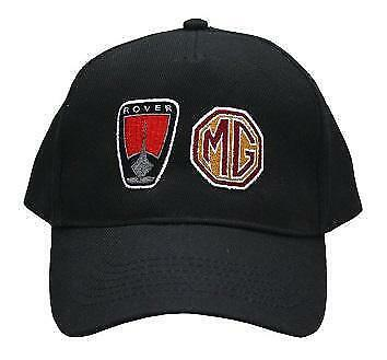 MG ROVER Baseball Cap in Black New and  Genuine Branded